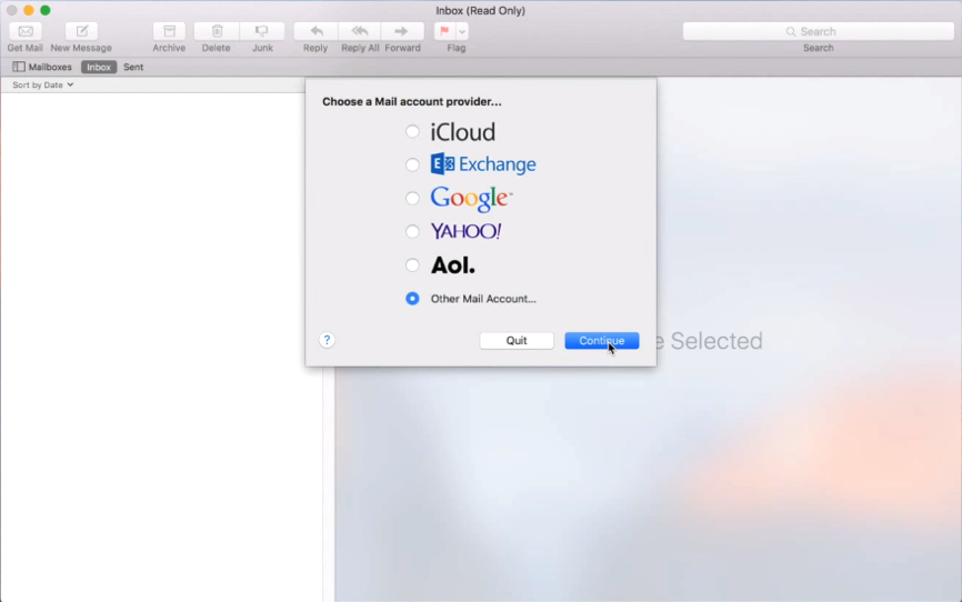 how to create an apple email account